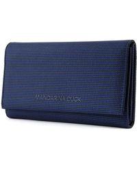 Mandarina Duck MD20 Wallet with Flap Dress Blue - Blau