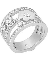 Michael Kors - Silver Piercing Ring Mkj7172040-7 - Lyst