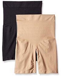Ellen Tracy - Seamless Shape High Waisted Long Leg Bottom Shaper Panty - Lyst