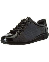 Ecco Soft 2.0, Sneakers Basses - Noir