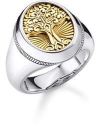 Thomas Sabo Ring 925 Sterlingsilber - Mettallic