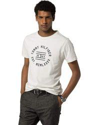 Tommy Hilfiger Finn Tee S/S RF T-Shirt - Weiß