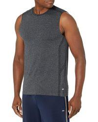 Amazon Essentials Seamless Run Tank Top athletic-shirts - Noir