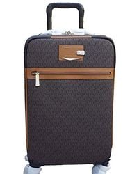 """Michael Kors 21"""" Travel Trolley Carry-on Signature Brown"""