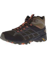 Merrell Moab Fst 2 Mid Waterproof Hiking Shoe - Multicolour