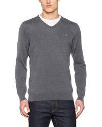 Lacoste Ah4087 suéter - Gris