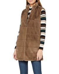 Esprit Collection 109eo1h001 Outdoor Gilet - Brown