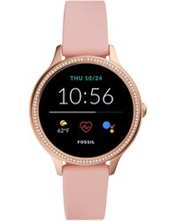 Fossil Smartwatch GEN 5E Connected da Donna con Wear OS by Google - Rosa
