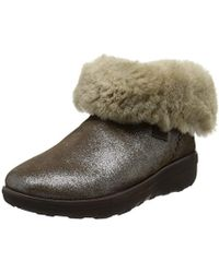 462a626431660d Fitflop - Mukluk Shorty 2 Shimmer Boots Ankle - Lyst