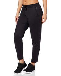 AURIQUE Amazon-Marke: Jogginghose mit schmalem Bein - Schwarz
