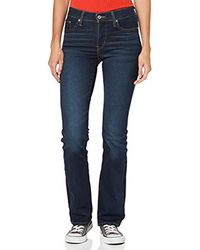 Levi's 315 Shaping Boot Jeans Bootcut Donna - Blu