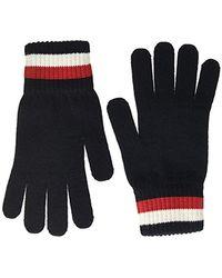 Tommy Hilfiger Icon Merino Knit Gloves, (blue Cjm), One (size: Os)