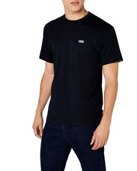 Vans - Left Chest Logo Tee T-shirt - Lyst