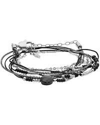 Fossil Armband - Schwarz