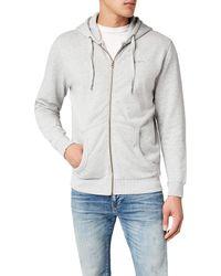 Pepe Jeans Zip Thru Pm581127 Hooded Jacket - Grey