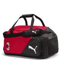 PUMA Ac Milan Liga Medium Bag Tango Red- Black Ua