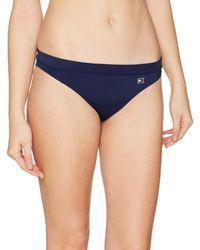 Tommy Hilfiger Classic Flag Bikini (3) Braguita - Azul