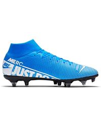 release date: 457bf f0db4 Unisex Adults' Superfly 7 Academy Sg-pro Ac Football Boots - Blue