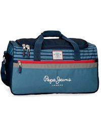Pepe Jeans - Yarrow Borsone 52 centimeters 43.73 Blu (Azul) - Lyst