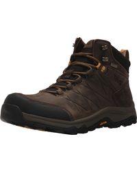Teva Arrowood Riva Mid Wp High Rise Hiking Boots - Brown