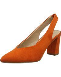 Dorothy Perkins Everley Court Closed Toe Heels - Orange