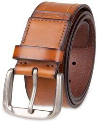 Columbia Dress Belt - Brown