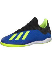 adidas X Tango 18.3 in, Chaussures de Futsal - Bleu