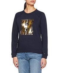 Tommy Hilfiger - 's Nera Round-nk Sweatshirt Ls - Lyst