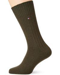 Tommy Hilfiger S TH Cashmere 1P Socks - Grün