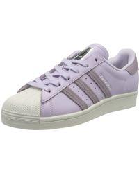 adidas Baskets Originals Superstar - Violet