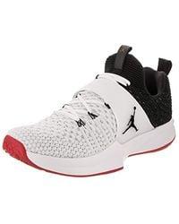 f53f3ea33d Nike   s Jordan Trainer 2 Flyknit Gymnastics Shoes in Orange for Men ...