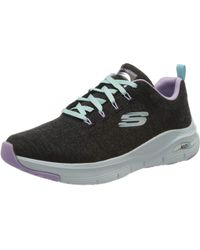Skechers Arch Fit-Comfy Wave - Negro