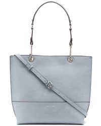 Calvin Klein Sonoma Reversible Novelty North/south Tote - Blue