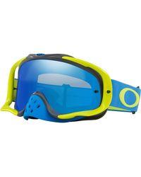 Oakley Homme OO7025-67 Lunettes de soleil - Bleu
