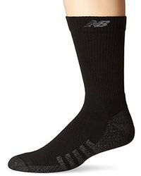 New Balance unisex-adult 6 Pack Essentials Cushioned Ankle Socks Casual Sock