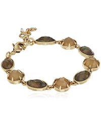 Lucky Brand - S Abalone Link Bracelet - Lyst