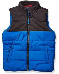 Amazon Essentials Boy's Heavy-weight Puffer Vest - Blue
