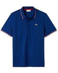 Lacoste - Tennis Short Sleeve Super Light Semi Fancy Polo, Yh7900 - Lyst