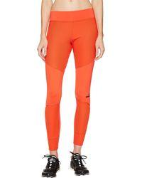 adidas By Stella Mccartney Training Tights S99878 Blaze Orange Small