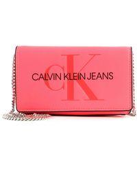 Calvin Klein Phone Crossbody Fluo Pink - Rosa