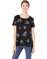 Amazon Essentials - Camiseta de manga corta holgada con cuello redondo para mujer - Lyst