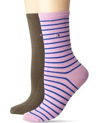 Tommy Hilfiger Th Small Stripe 2p Calcetines - Multicolor
