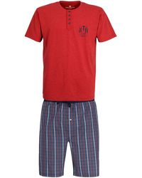 Tom Tailor Schlafanzug Gr. 54 - Rot