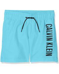 Calvin Klein B70b700029 Pantalones de Pijama - Azul