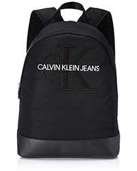 Calvin Klein Ckj Monogram Nylon Cp Bp 40 Schultertasche, 0.1x0.1x0.1 Centimeters - Schwarz