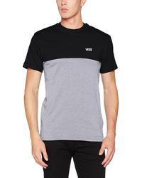 Vans Colorblock tee Camiseta para Hombre - Negro