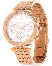 Esprit Tp10873 Es108742002 Wristwatch For Women Design Highlight - Metallic
