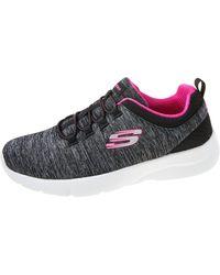 Skechers In A Flash Black/hot Pink 7.5 B
