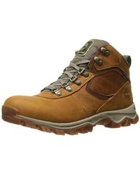 Timberland - Mt. Maddsen Mid Leather Wp Winter Boot - Lyst