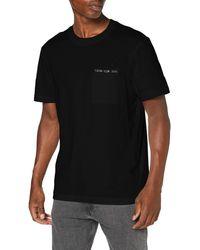 Calvin Klein - Intarsia Pocket Tee Camicia - Lyst